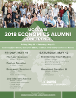 UC Davis to host 2nd Annual Economics Alumni Conference on May 11-12