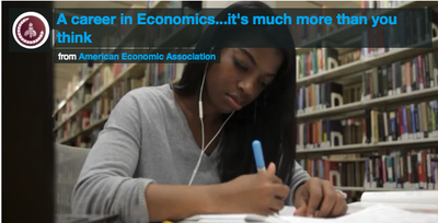 thumbnail for A Career in Economics video on vimeo